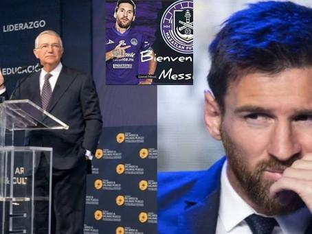 Ricardo Salinas Pliego estaría interesado en fichar a Messi para el Monarcas Morado