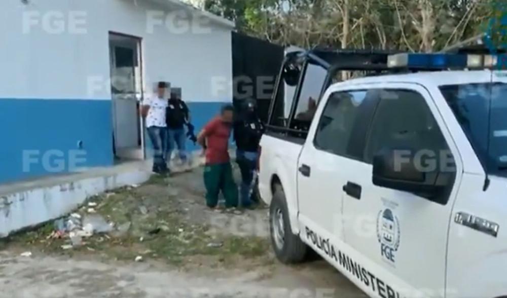 Así fue la detención de policías involucrados en feminicidio de salvadoreña en Tulum (+Video