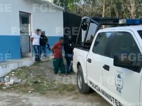 Así fue la detención de policías involucrados en feminicidio de salvadoreña en Tulum (+Video)