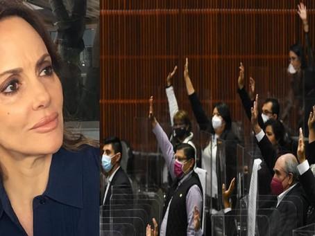 Lilly Téllez llama 'cínicos' a diputados de Morena por pedir vacuna