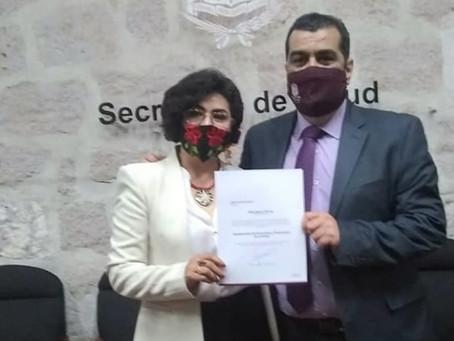 Experiencia del sector salud de Anita Sánchez llega a la SSM