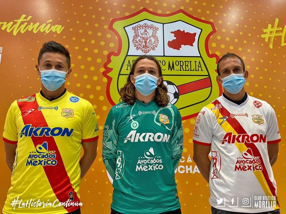 ¡Uh la la, chulada! Presentan el nuevo jersey del Atlético Morelia