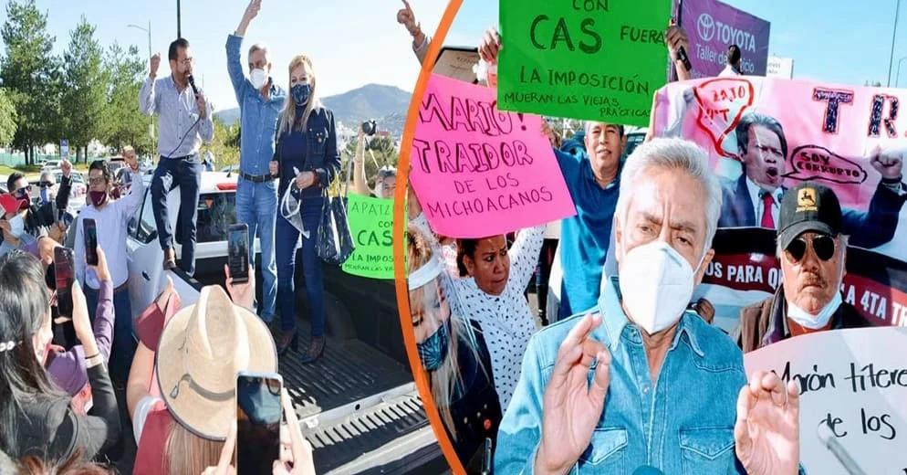 "Cristóbal Arias no se baja de la contienda; ""Voy por la gubernatura"""
