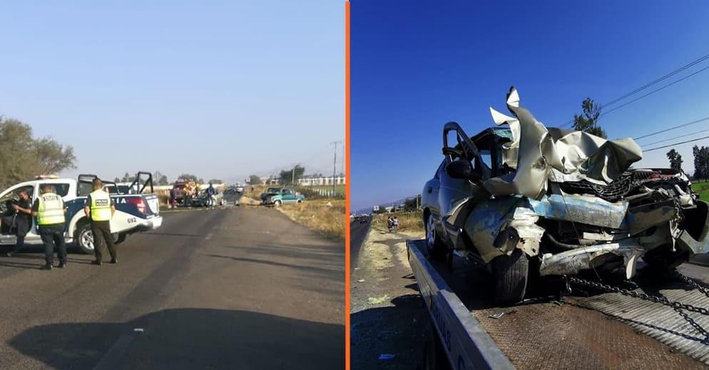 Choque entre dos vehículos y un triciclo deja 3 muertos en Cuitzeo