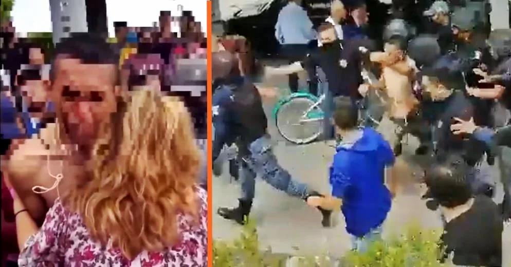 """""""Yo respondo""""; Madre intenta salvar a su hijo ladrón de ser linchado (+Video)"""