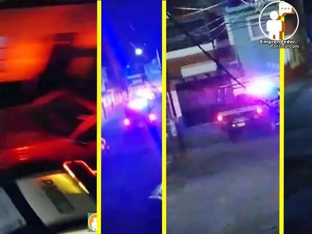 Disparos en la Ventura Puente y Juárez generan persecución policíaca (+Video)