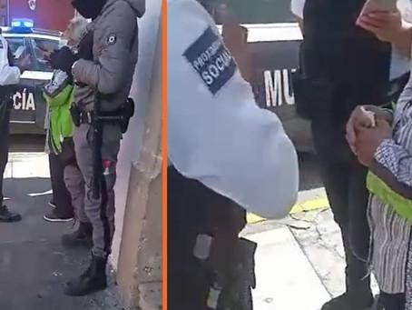 En pleno centro de Morelia, maleantes asaltan a abuelita y le quitan 70 mil pesos