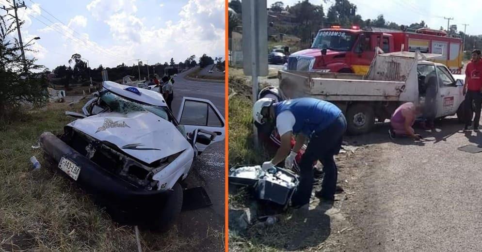Accidente deja 5 lesionados en la Morelia-Pátzcuaro