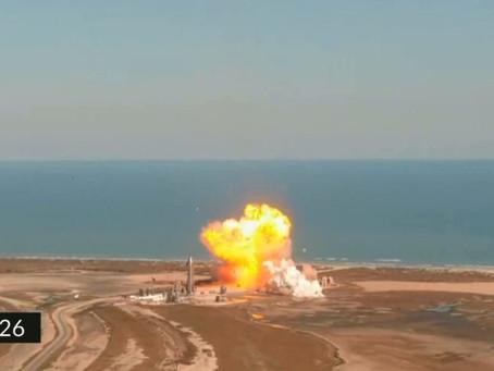 Cohete de SpaceX explota al aterrizar tras lanzamiento de prueba (+Video)