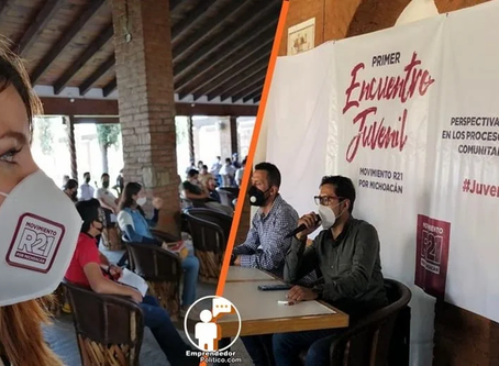 Crece la organización juvenil del Movimiento R21 Michoacán