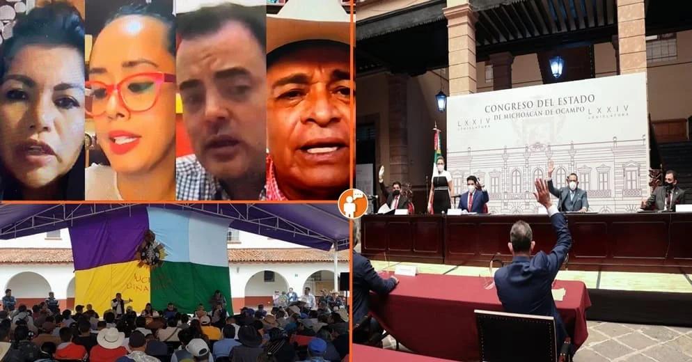 Consejo Indígena y Grupo Parlamentario del PT impugnarán nueva Ley de Educación de Michoacán