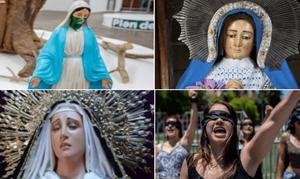 Vírgenes de iglesias católicas se unen al paro #UnDíaSinMujeres - Emprendedorpolitico.com