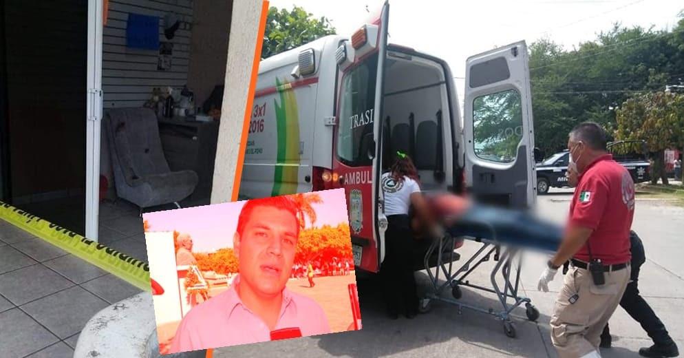En atentado asesinan al ex alcalde de Apatzingán César Chávez Garibay