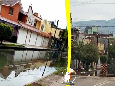 #Denuncia: Vecinos de Prados Verdes gritan auxilio tras inundaciones de algunas calles (+Video)