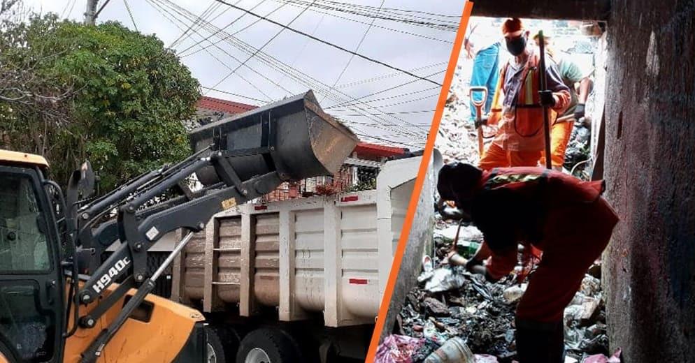 """""""Rescatan"""" a familia moreliana que vivia entre la basura desde hace 15 años (+Fotos)"""