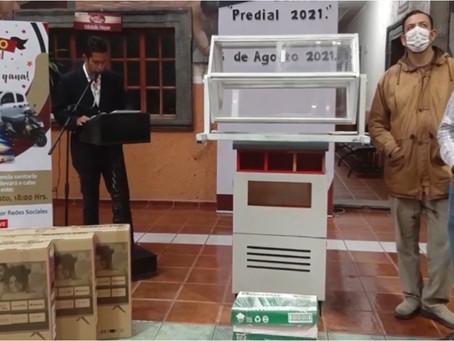 Se llevó a cabo el Sorteo predial de Acámbaro 2021; conoce a los ganadores