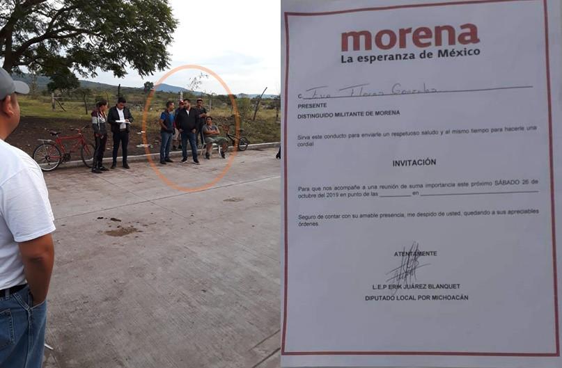 Morenistas de Paracho denuncian compra y coacción del voto por parte de ADN en elecciones internas
