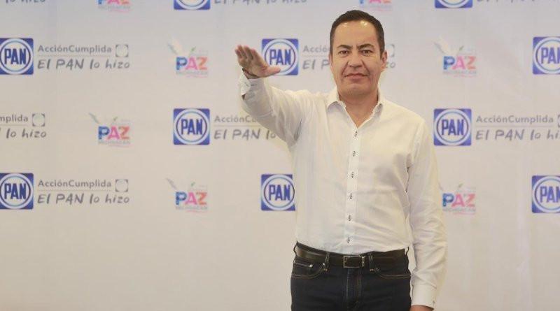 Carlos Herrera por el Solio de Ocampo; rinde protesta por el PAN