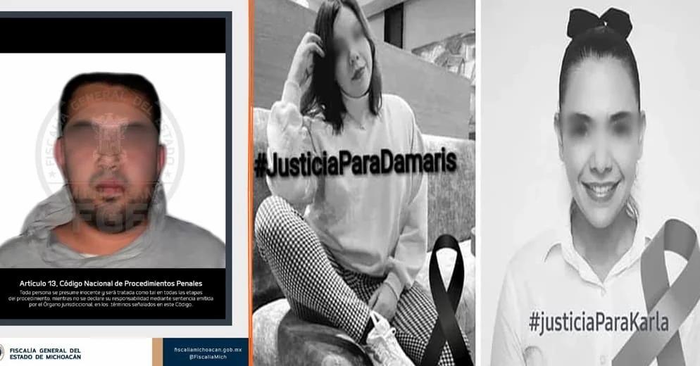 Detienen a un implicado del doble homicidio de dos jovencitas en Uruapan