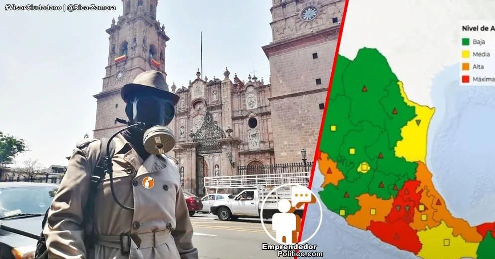 Con 411 contagios, Michoacán es el décimo estado a nivel nacional con más casos activos: Gobierno