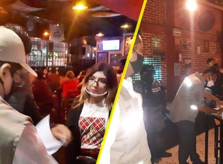 Por no respetar reglas anti COVID-19, suspenden 6 bares y antros de Morelia