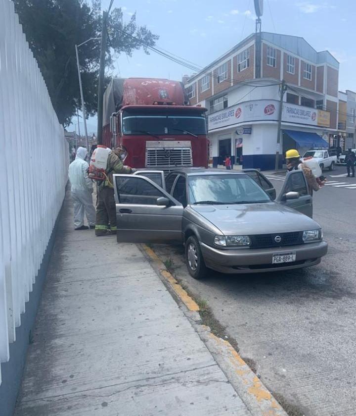 Migrante llega a Hospital de Zitácuaro con síntomas graves de COVID-19 y así se reaccionó
