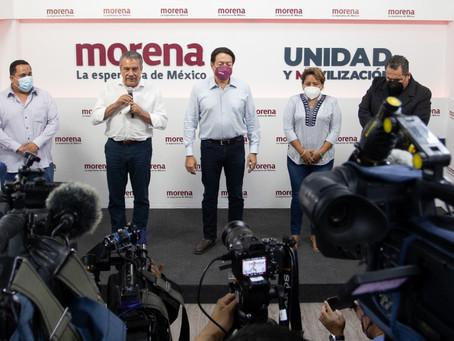 Raúl Morón nuevo dirigente estatal de Morena en Michoacán