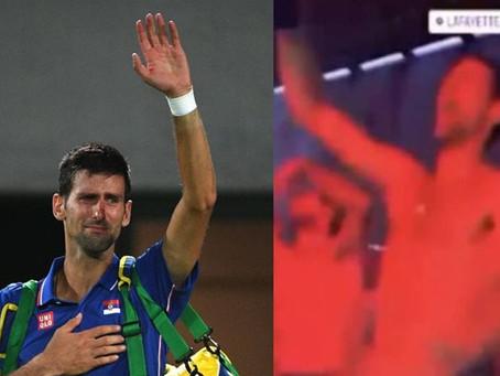 Djokovic festeja torneo a lo grande; después da positivo a Covid-19 (+Videos)