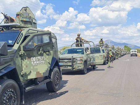 2 mil 400 militares se despliegan en Michoacán para aplacar narco Guerra entre cárteles
