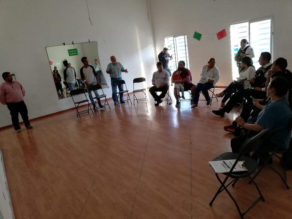 DIPUTADO JUNTO AUTORIDADES Y CIUDADANÍA, GESTIONAN CENTRO POLICÍACO EN VILLAS DE ORIENTE