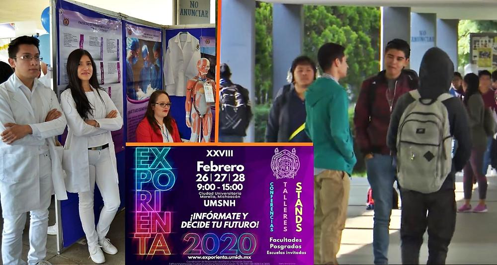 """¿Buscando que estudiar? Anuncian el """"ExpOrienta 2020"""" de la #UMSNH y esto vas a encontrar"""