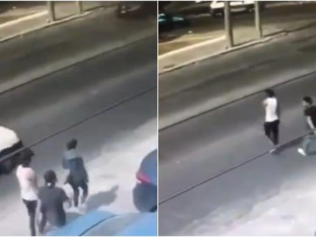 Justiciero mexicano: Los arrolla y mata luego de que lo asaltaran (+Video)