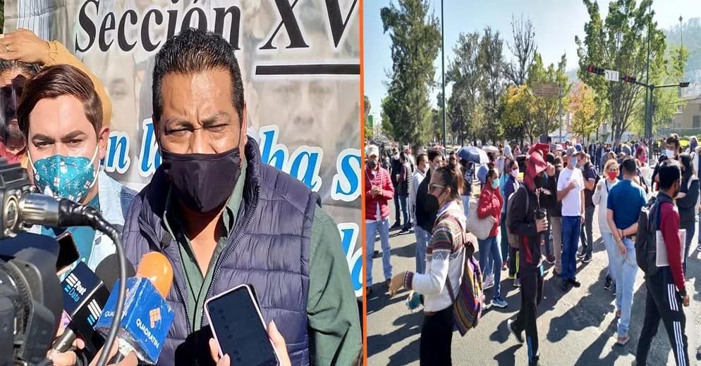 Ante negativa de pagos, CNTE bloquearía plazas comerciales, Aeropuerto y Puerto de LC