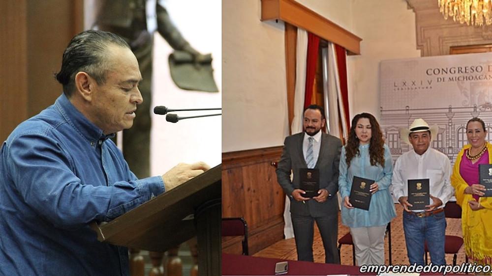 El diputado que impulso con magistrados y académicos, la revocación de mandato en #Michoacán