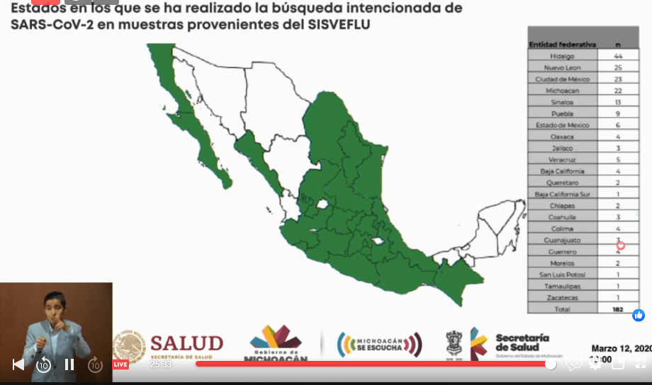 Silvano Aureoles anuncia suspensión de actividades escolares de todos los niveles a partir de mañana