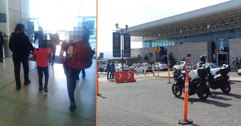 Pasó en Morelia: Detienen a dos por viajar con niños que no son sus familiares