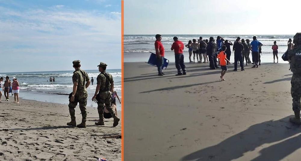 Moreliano de 40 años fallece ahogado en playa Jardín luego de rescatar a niño