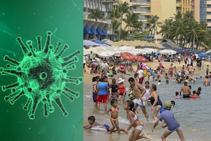 #PasaEnMéxico: En medio de la crisis mundial por coronavirus, 'abarrotan' las playas del país