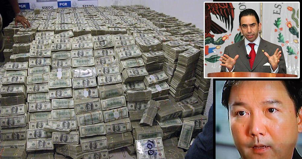 El Presidente ordena buscar en dónde quedó la cama de dólares que se decomisó a Zhenli Ye Gon