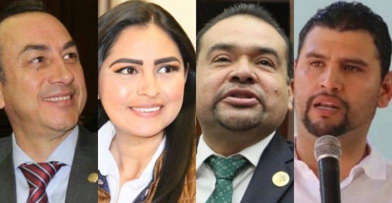 Diputados del PRD en Michoacán