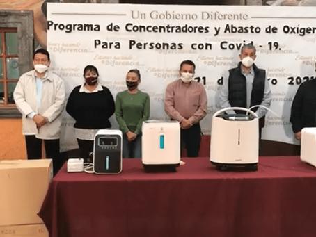 Gobierno de Acámbaro ofrecerá de manera gratuita concentradores y abasto de oxígeno