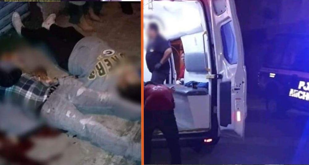 #Uruapan: atacan a balazos a pareja de esposos y fallecen en el hospital; la joven estaba embarazada