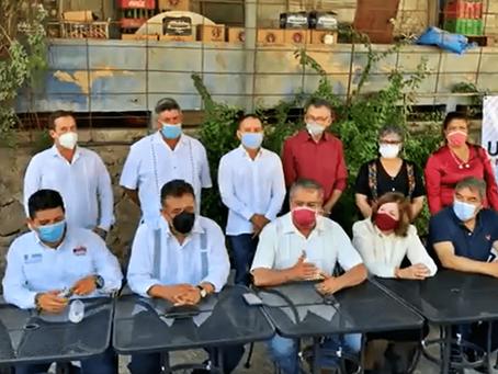 Liderazgos de Morena en Apatzingán y Raúl Morón Orozco van por la unidad