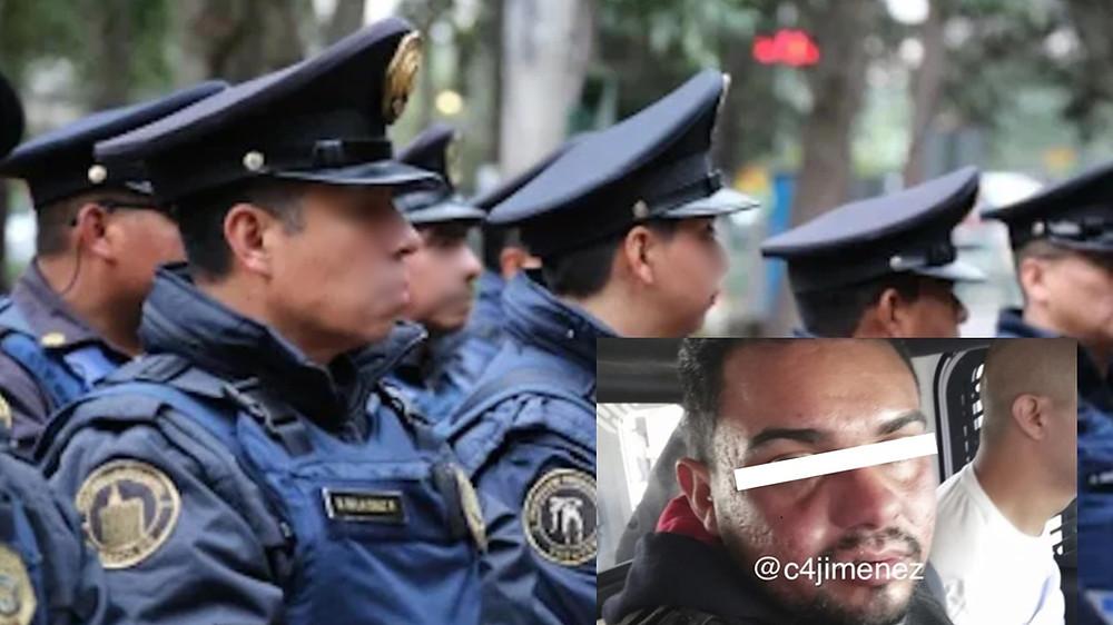 Detienen a poli por traer droga y disparar al aire - Emprendedorpolitico.com