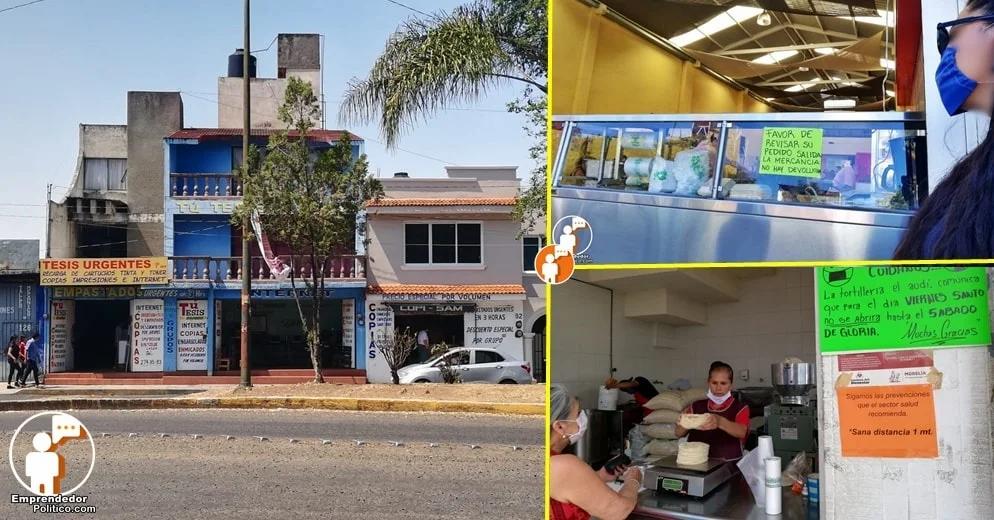 ¿Puedes abrir tu negocio? Conoce la lista de giros comerciales que dejarían de operar en Morelia