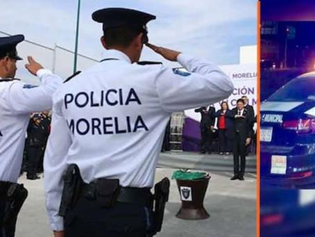 Morelia: Bajo investigación 4 policías tras dispararle en la cara a un joven moreliano; esto se sabe