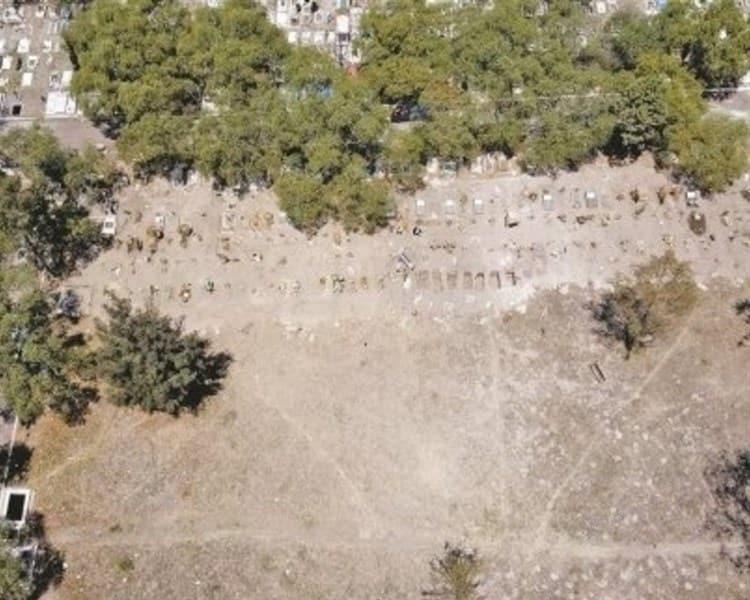 Covid-19 ´llena´ en tres meses panteón de Iztapalapa (+Fotos)