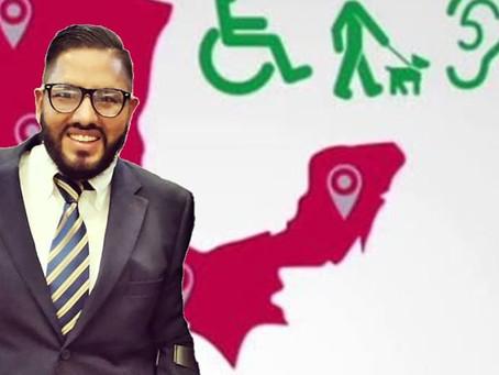 Luis Ventura de la Rosa no detendrá su acción para impulsar una agenda pública sobre inclusión