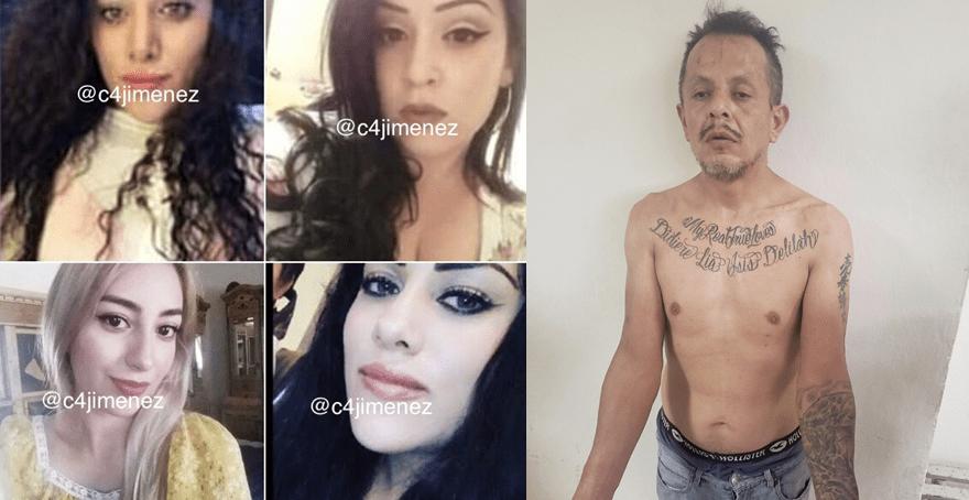 """México: """"Disfrutaba verlas llorar""""; sujeto mató a 4 jovencitas y grabó feminicidios en celular"""