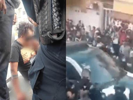 México: Salvan de linchamiento a ladrón y dejan a varios policías heridos (+Video)